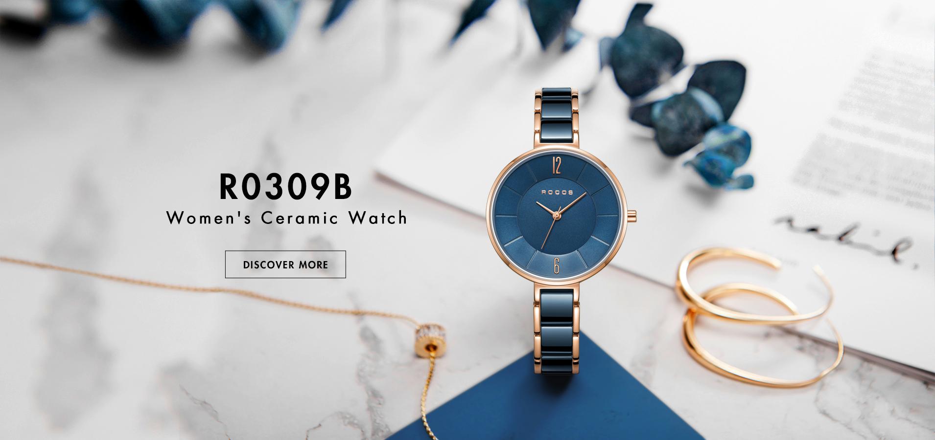 R0309B Women's Ceramic Watch