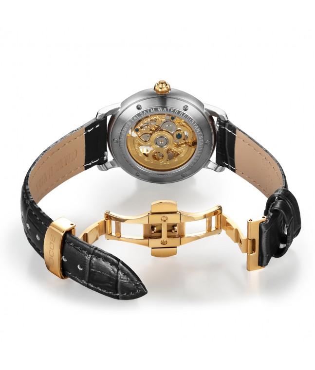 R0142 Men's Skeleton Wristwatch