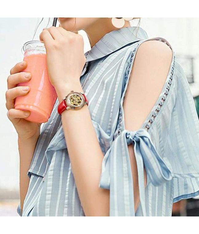 R0206 Women's Skeleton Watch