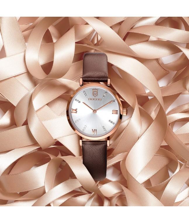 R0207 Ultra-Thin Fashion Watch for Women
