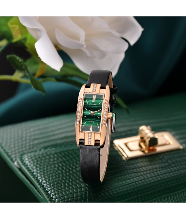 R0209S Ladies Vintage Square Watch