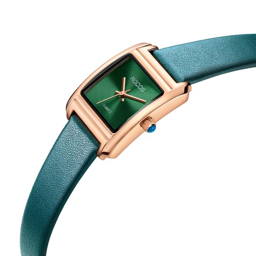 R0219L Women's Watch with Green Dial